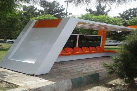 ایستگاه اتوبوس کامپوزیت