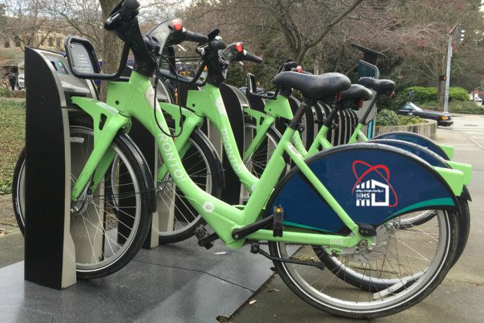 ایستگاه دوچرخه هوشمند