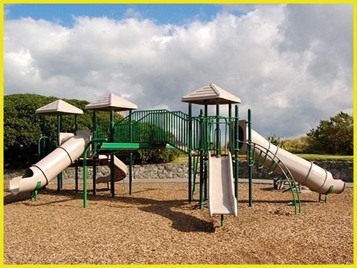 پارک بازی فلزی