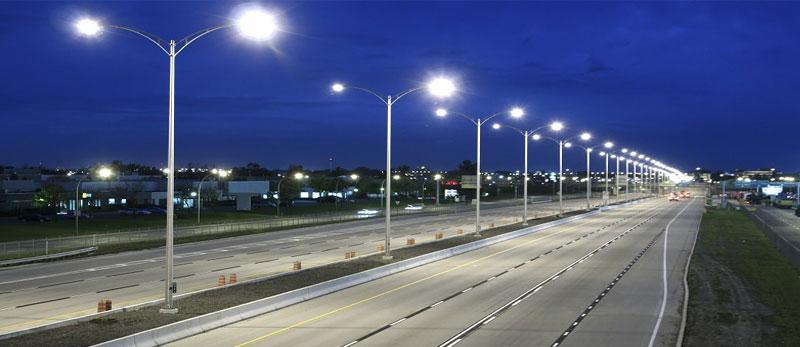 پایه چراغ روشنایی
