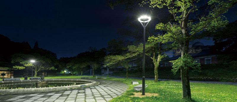 پایه چراغ پارکی